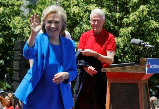 Bill Clinton says Hillary once told him she'd never run for office