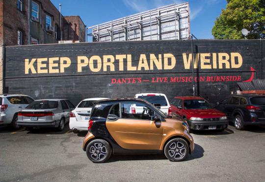 2016 Smart ForTwo: First Drive