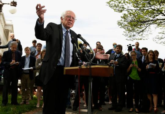 The Bernie Sanders Website: A Review