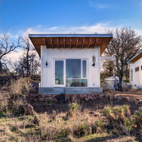four families build magical 40k tiny houses