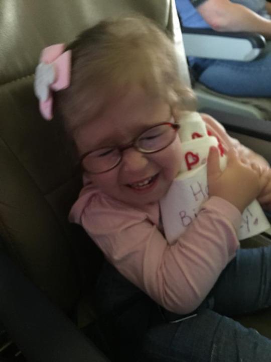 Watch Southwest Airlines Crew Serenade Special Needs Birthday Girl