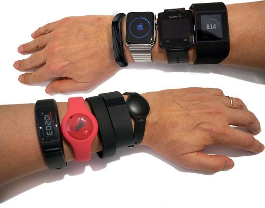 22 Fitness Bands and the Battle for Your Wrist