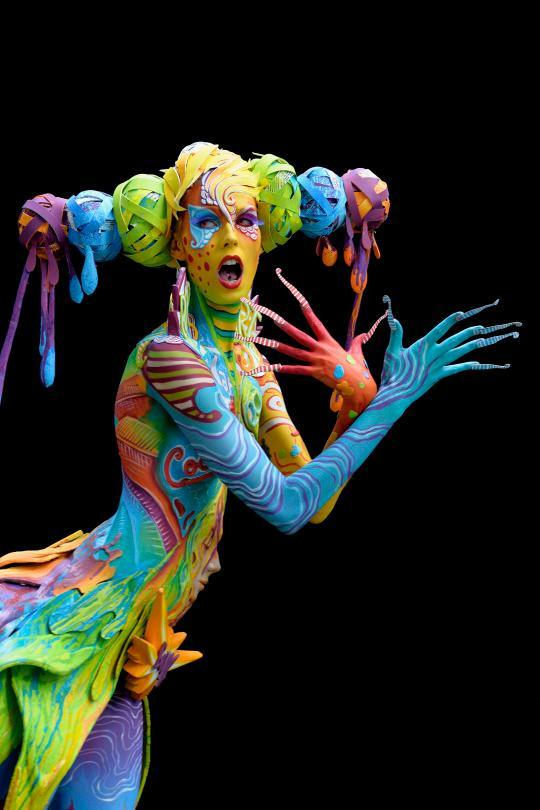 The World Bodypainting Festival Turns the Human Body Into ...