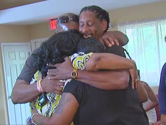 Reunited after 40 years: Man Reunited 40 Years Siblings