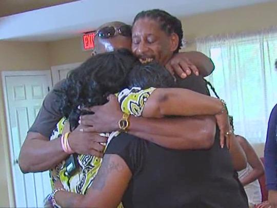 Reunited after 40 years: Man Reunited 40 Years Siblings
