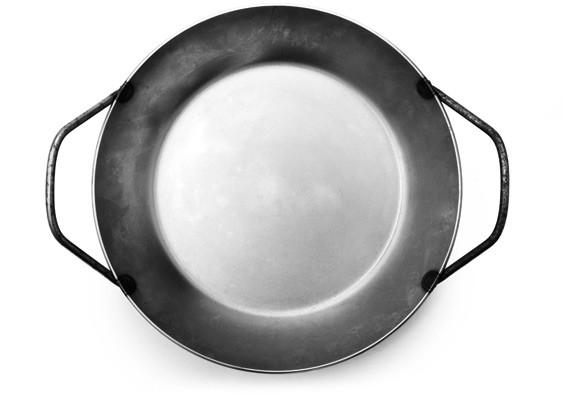 Turk Heavy Steel Double Handle Pan