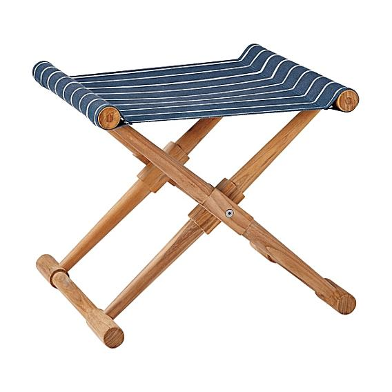 Striped Camp Stool