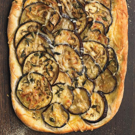 Eggplant Focaccia