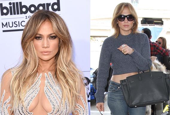 Jennifer Lopez lops off her long layers in favor of shorter ones.