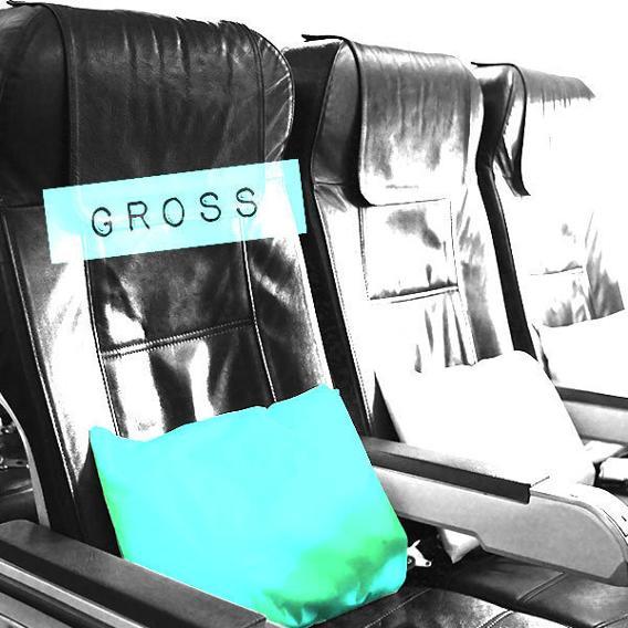 Area: Airplane Freebies / Verdict: Gross!