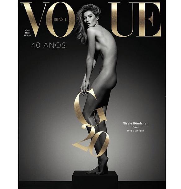 GiseleBündchen Slips a Nip in 'Vogue Brazil'