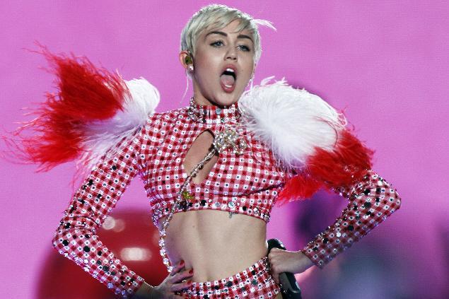 No. 8: Miley Cyrus