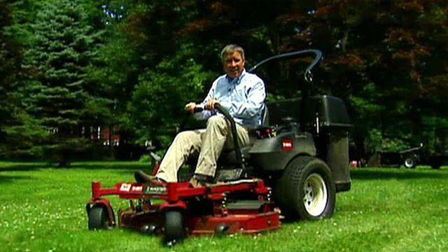 WATCH: This Is the World's First Self-Fueled Lawn Mower