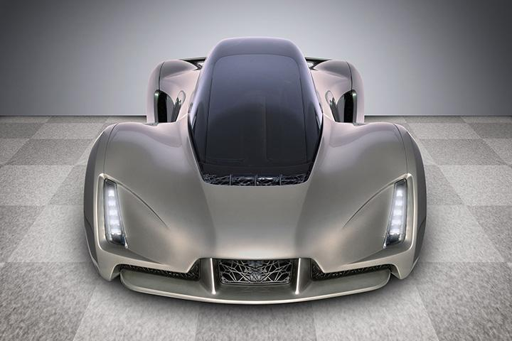 Silver Blade - World's First 3D-Printed Supercar