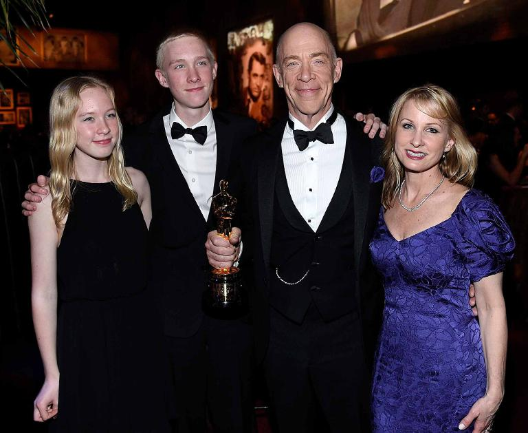 J.K. Simmons and Family | Oscars 2015 Party Pics