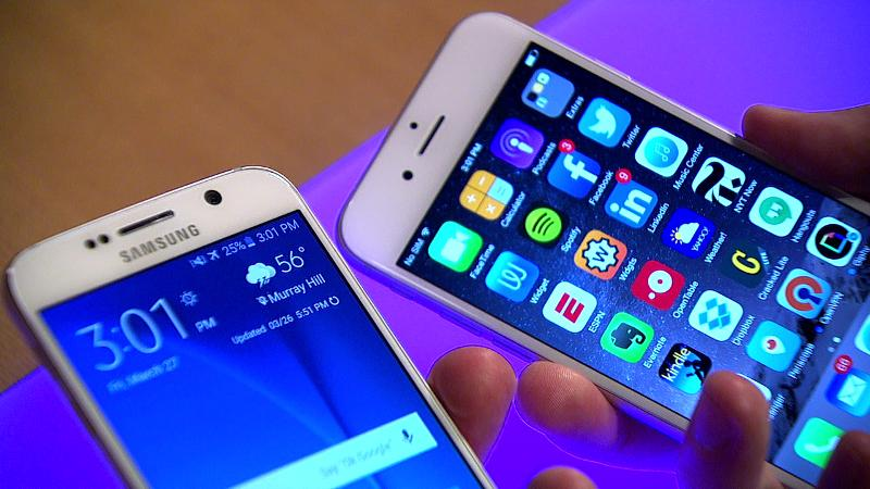 Battle of Sixes: Samsung Galaxy S6 vs. Apple iPhone 6