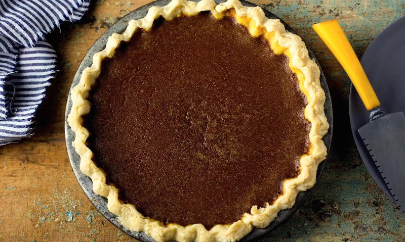 A new twist on pumpkin pie for Pumpkin pie with a twist