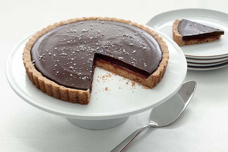 Salted Chocolate Caramel Tart Recipe