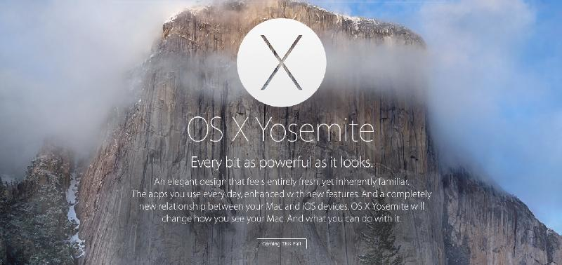 OSX Yosemite Preview: 5 Features to Get Excited About