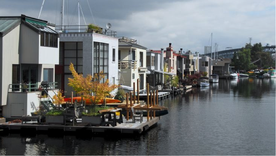 A Unique Floating House in a Sausalito Marina Land Is Overrated 8 Stylish