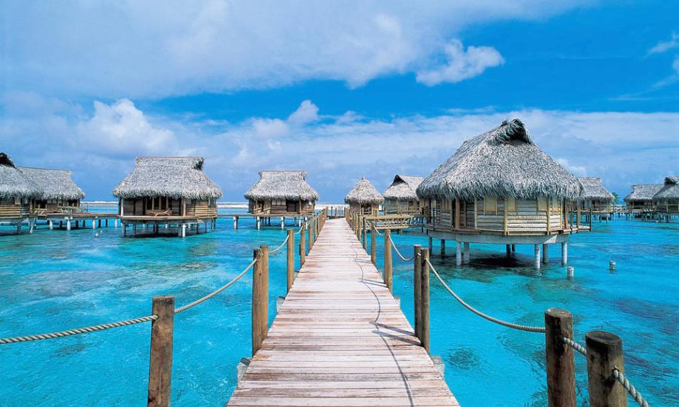 11 of the World's Best Overwater Bungalows: Vacation Like the 1%