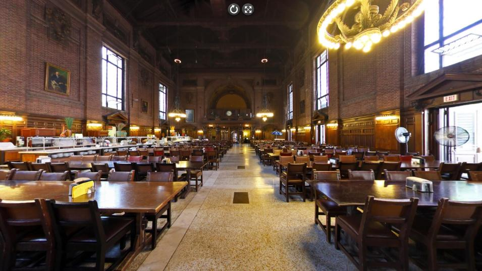 The Dining Hall at Yale University