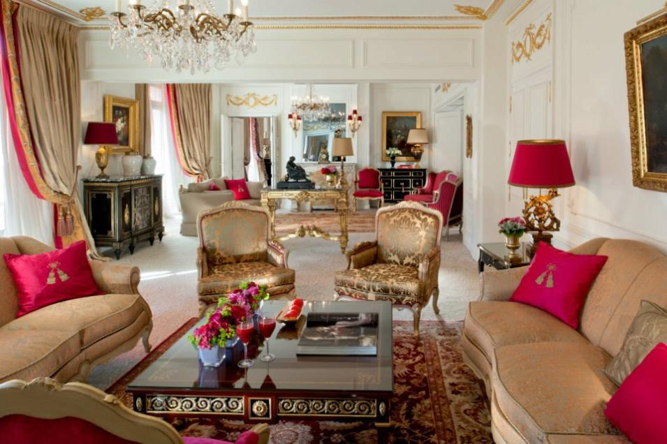 Royal Suite at Hôtel Plaza Athénée, Paris
