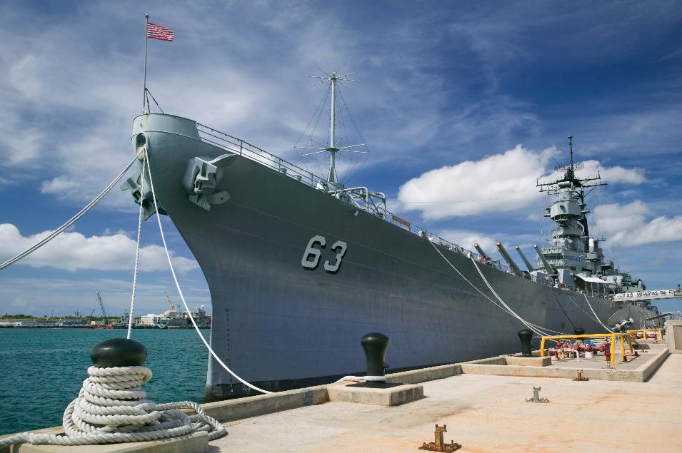 USS Missouri, Pearl Harbor, Hawaii