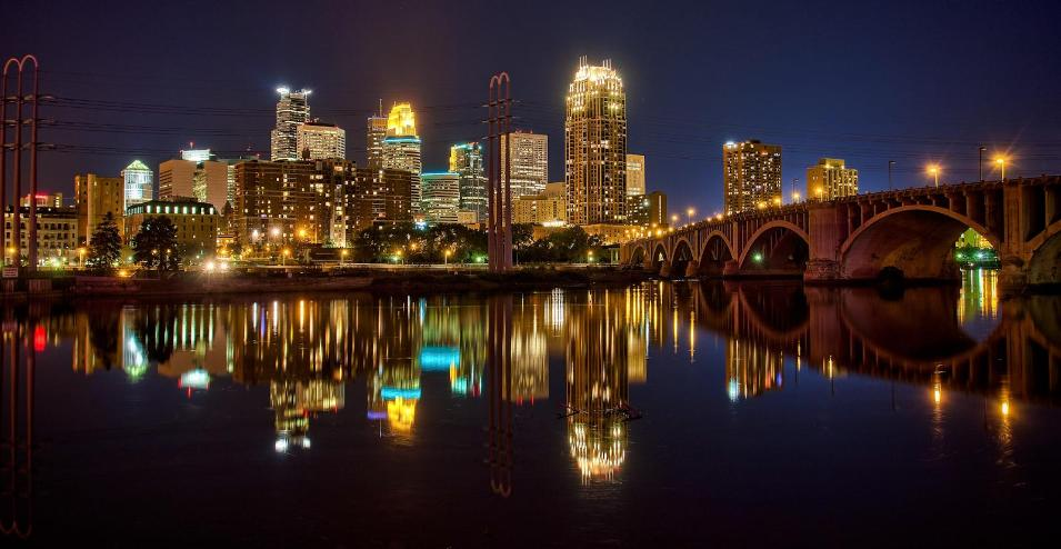 U.S.: 3. Minneapolis, Minnesota