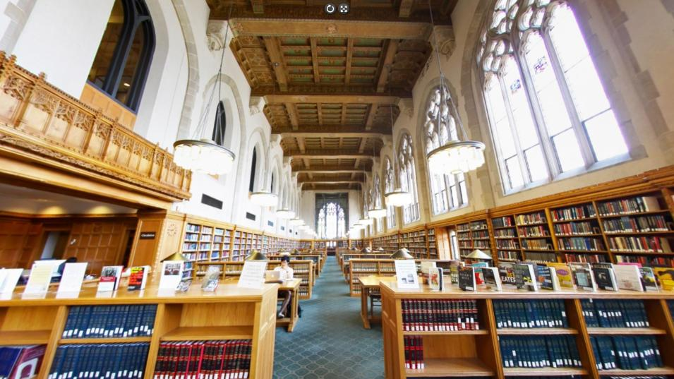 The Lilian Goldman Law Library at Yale University