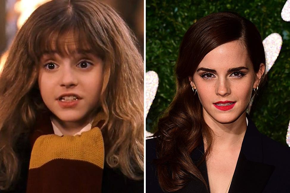 Emma Watson – Hermione Granger | Harry Potter Kids: Then ...