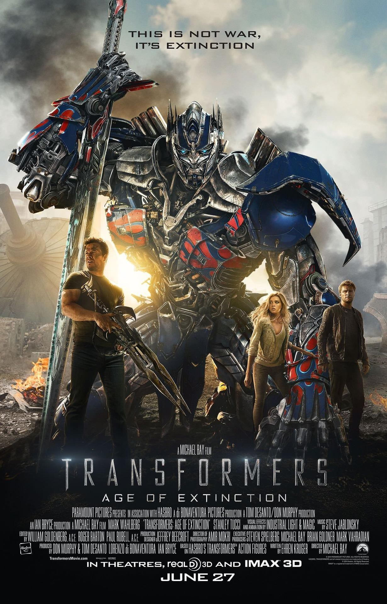 Watch Transformers: Age of Extinction (2014) online free