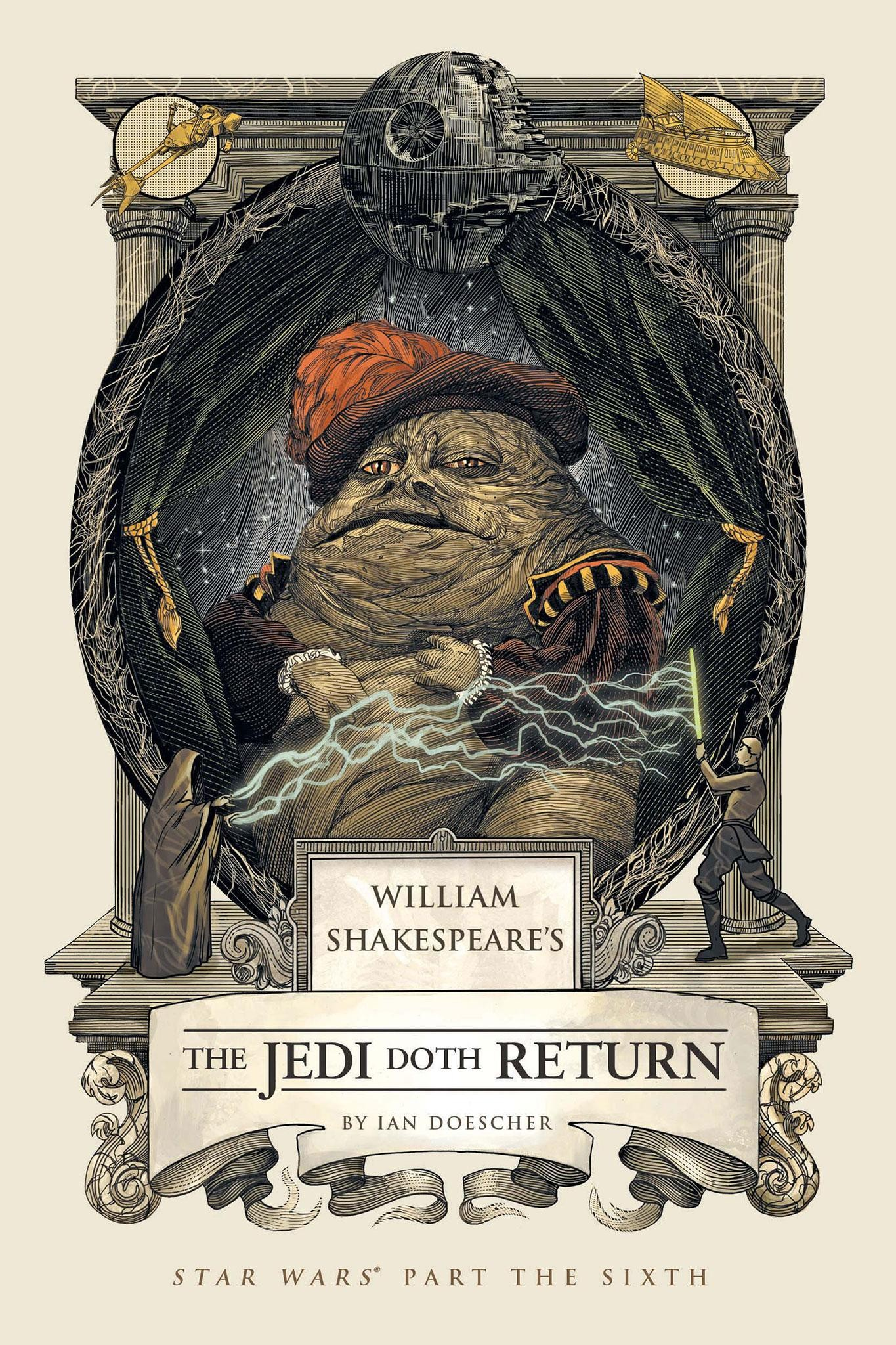 'The Jedi Doth Return' Trailer Completes Shakespeare's 'Star Wars' Saga