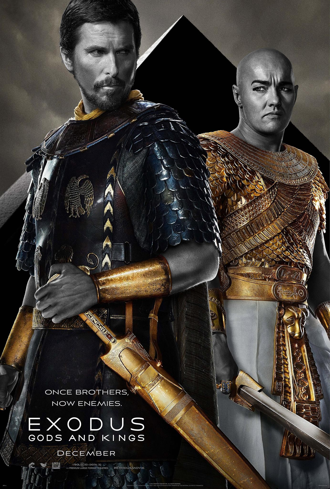 Christian Bale Gets Biblical in 'Exodus: Gods and Kings' Posters and New Trailer
