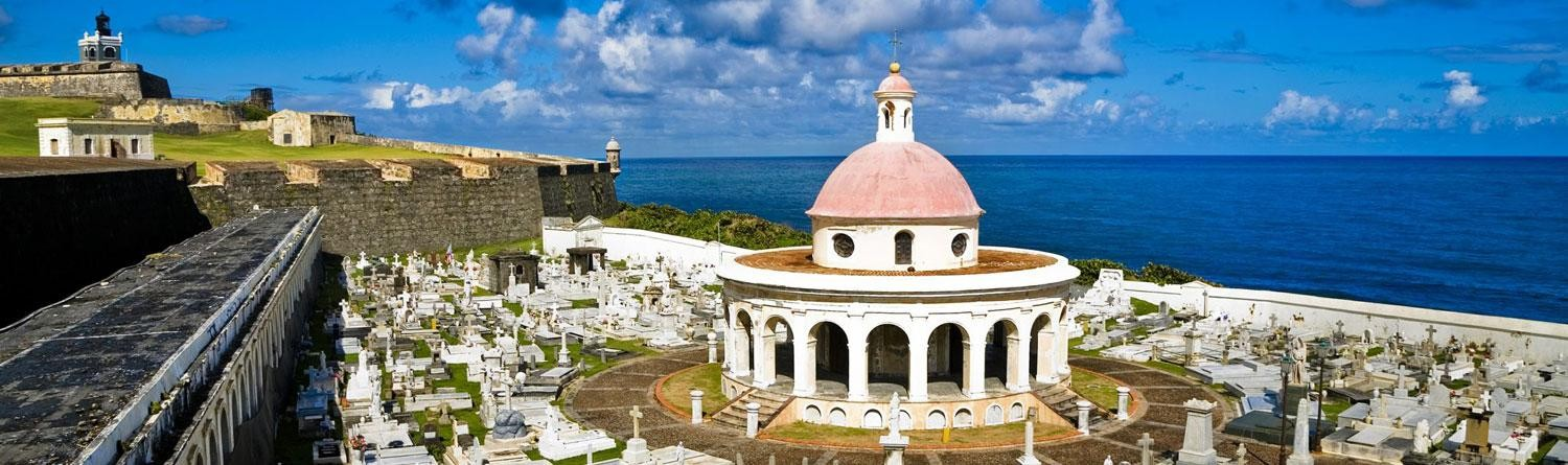 San Juan: Situated on a rocky peninsula girded by twenty-feet thick walls jutting into the crashing Atlantic surf. Amazing.
