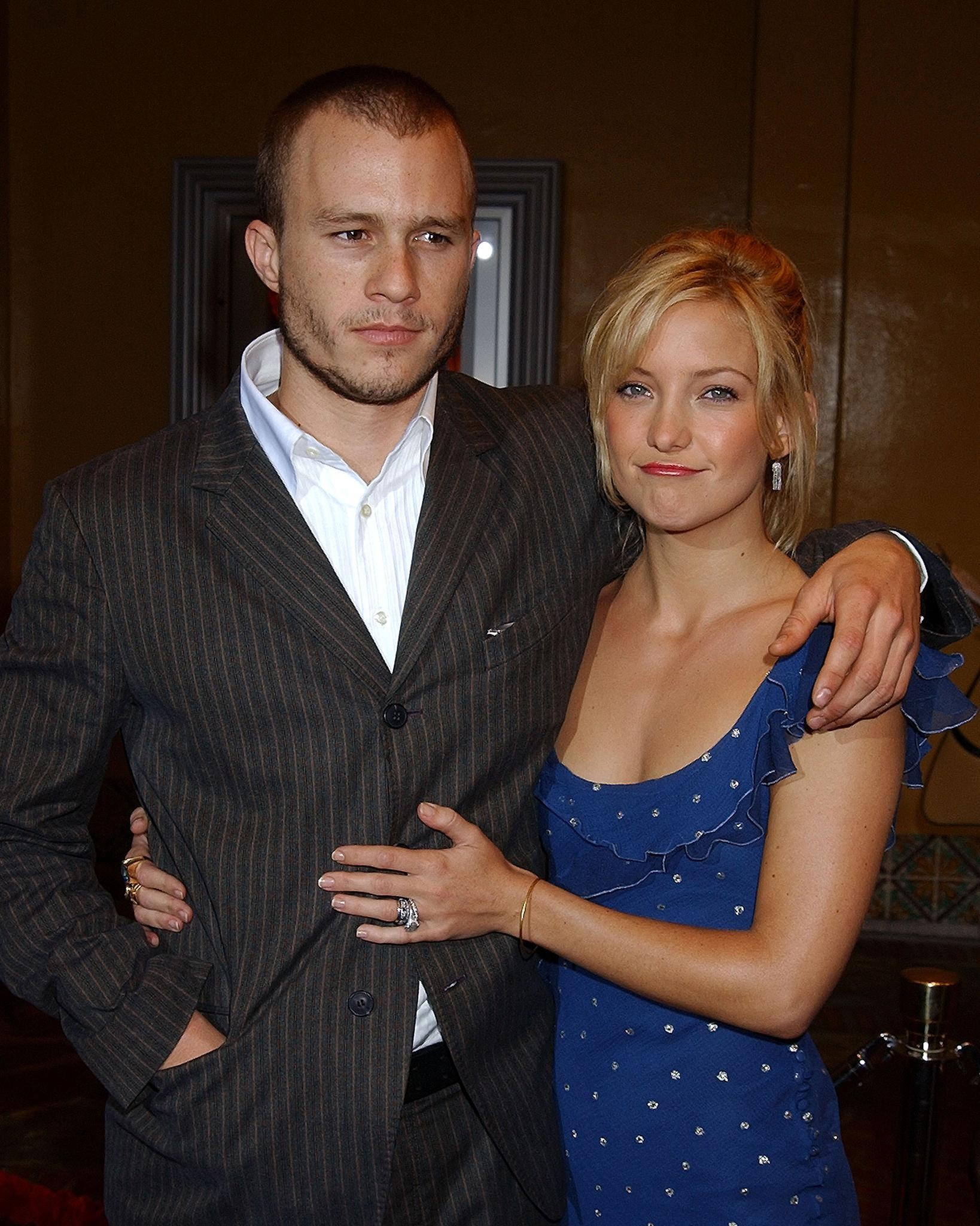Kate Hudson Says Her Best Onscreen Kiss Ever Was With Heath Ledger