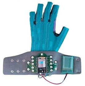 These $2,000 Gloves Turn Gestures Into Music