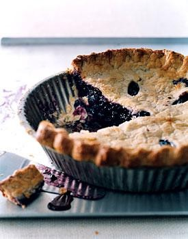 Blueberry Pie, No Matter the Dubious Occasion