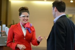 Flying First Class on Virgin Atlantic? Airline Staff May Greet You with Google Glass