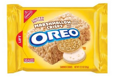 Oreo Debuts Two New Flavors: Marshmallow Crispy and Cookie Dough