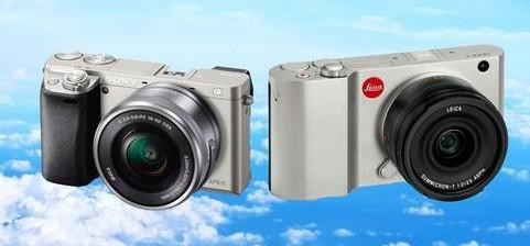 Tiny New Cameras with Big Sensors: The Leica T vs. Sony's A6000