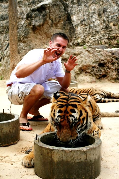 Hey, Tinder Dude: Where'd You Get that Tiger?