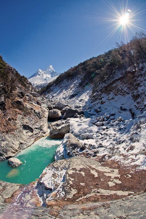 #Daydream: Imja Khola River, Nepal