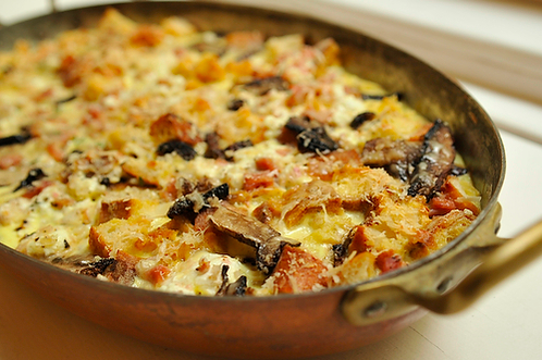Cook This Tonight: Savory Bread Pudding