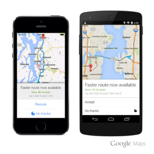 Google Maps Now Watches Traffic to Help You Get Where You're Going Faster