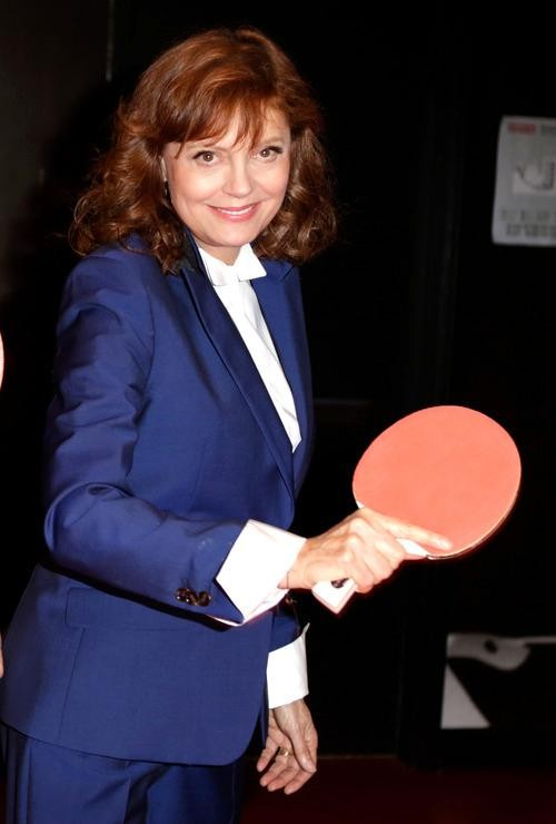 Susan Sarandon's Ping-Pong Vacation in China