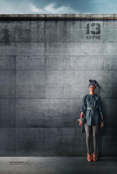 Rebel Effie? The 'Hunger Games' Fashion Plate Gets a Drab Poster and Bigger Role in 'Mockingjay'