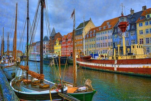 Flickr of the Day: Boats Pull Into Harbor In Copenhagen