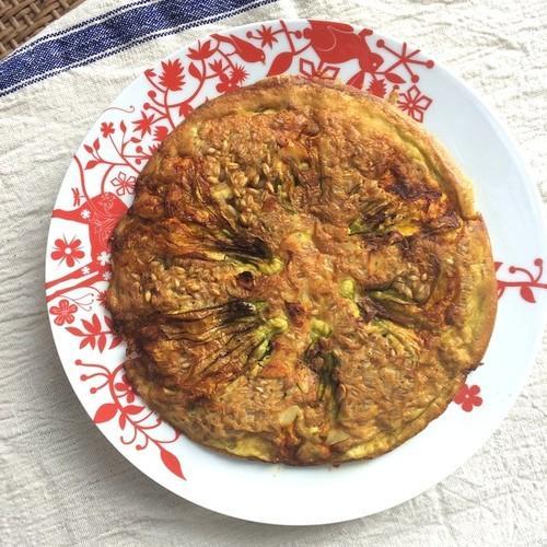 Squash Blossom Frittata