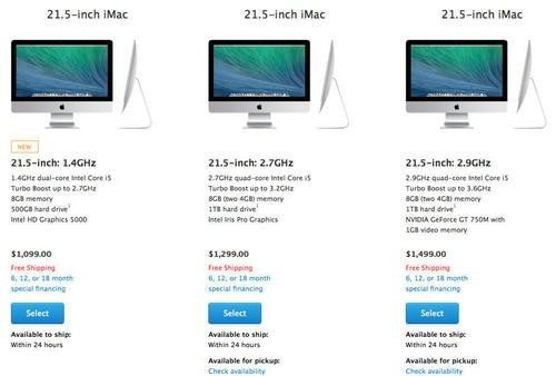 Apple Unveils Cheaper iMac, Sacrificing Speed and Storage for Savings